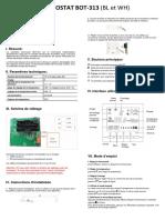 Manual BOT313 - Français v2