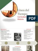 55587378 Linea Del Tiempo de La Historia Del Curriculum