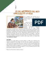 12 de ABRIL - Aniversario Del Nacimiento Del Inca Garcilaso de La Vega.