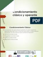 Condicionamiento Clásico y Operante