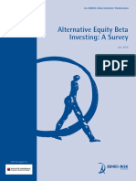 EDHEC Publication Alternative Equity Beta Investing Survey