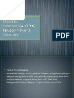 Praktek Pengukuran Dan Penggambaran Poligon