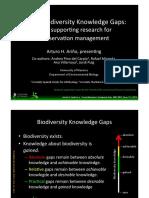 AArino Filling Biodiversity Knowledge Gaps.pptx
