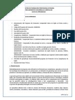 5. Formato Guía de Aprendizaje - InDUCCIÓN