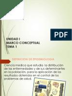 I.- Marco Conceptual