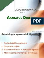 Curs 11 Aparatul Digestiv I