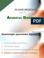 Curs 12 Aparatul Digestiv II