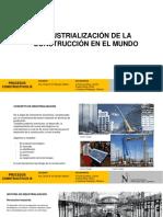 Industrialización de La Construcción en El Mundo