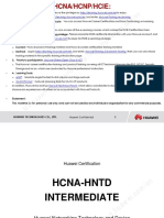 HCNA-HNTD Intermediate Training Materials V2.2