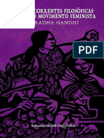 [GANDHI] Sobre as Correntes Filosóficas Dentro Do Movimento Feminista