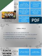 iia - properties of water day 1