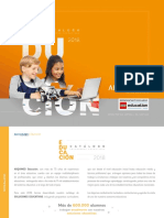 Catalogo Educa c i on 2018