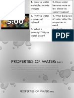 iia - properties of water day 2