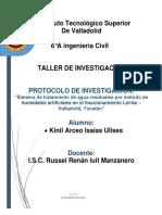 Propuesta de Protocolo Humedales