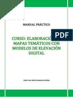 Manual Curso Basico 'Elaboracion de mapas tematicos con DEM'