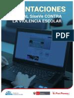 Orientaciones Portal SíseVe Contra La Violencia Escolar 2017