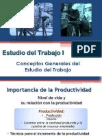 Teoría Estudio del trabajo