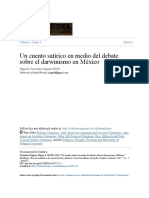 FERNÁNDEZ DELGADO, MIGUEL ÁNGEL Cuento Satírico Sobre El Darwinismo en México
