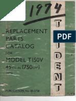 Triumph Trident T150 1974