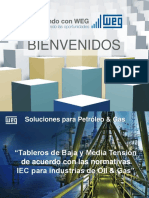 Tableros de BT y MT de Acuerdo Con IEC Para Oil & Gas