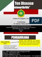 Rekomendasi Osteoarthritis 2014
