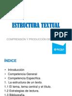 Sesión 03. La Estructura Textual