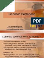[Aula 7 Microbiologia Básica - Profª. Zilka] Genética Bacteriana