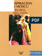 Conspiracion en Moscu - Boris Akunin