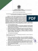 Edital No 20 2018 Gr Edital de Remocao Docente Eixo Profissional Informacao e Comunicacao