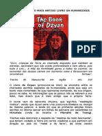 o Livro Dzyan
