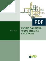 Apostila eNSINO DA LINGUA PORTUGUESA