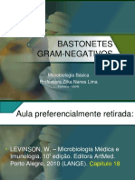 [Aula 12 Microbiologia Básica - Profª. Zilka] Patogenia e características dos Bastonetes Gram-negativos