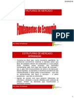 5-Estruturas de Mercado