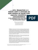 Princípio da ação mínima no século XVIII.pdf