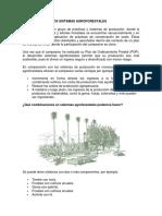 Componente de Los Sistemas Agroforestales