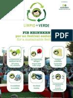 FIB Heineken = Limpio y Verde