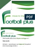 presentatie football-plus-techniektrainingen seizoen 2018-2019zonder