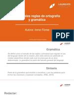 M9.EDCE.principales Reglas de Ortografía y Gramática