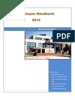 Employee Handbook 2015 (1)