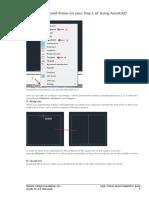 2D AutoCAD Exercises