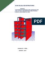 Memoria de Cálculo de Estructuras Escuela PDF