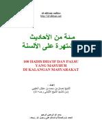 100 Hadis Dha'if dan Palsu yang masyhur.pdf