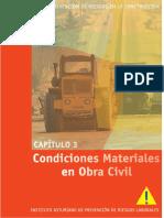 Manual para la Prevención de Riesgos en la Construcción, Capítulo 3, Condiciones Materiales en Obra Civil - Instituto Asturiano.pdf