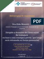 Taller Elda Monetti Afiche e Inscripción