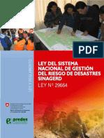 Cartilla Ley y Reglamento Del SINAGERD