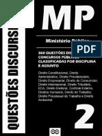 360 Questões Discursivas (2016) Ministério Público  - Questões Discursivas.pdf