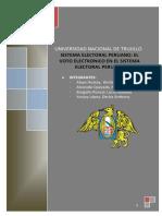 Sistema Electoral Peruano 2da Ronda Albán