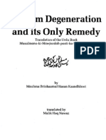 muslim degeneration and its only remedy