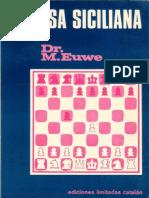 Euwe Max - Defensa Siciliana, 1976-OCR, 256p