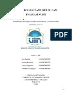 Hasil Evaluasi Audit Internal